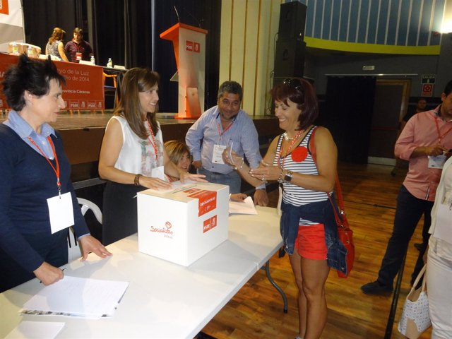 Congreso Provincial PSOE de Cáceres