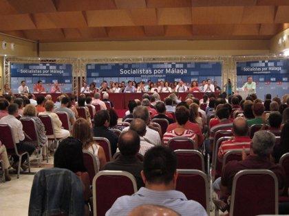 Aprobada la lista de los 33 delegados socialistas para el Congreso federal, con Heredia a la cabeza