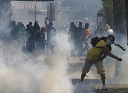 Disturbios entre Policía y manifestantes propalestinos en París