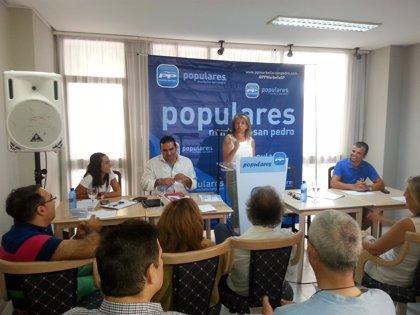 Muñoz pide movilizarse para exigir a la Junta que el pago de la deuda revierta en infraestructuras en Marbella