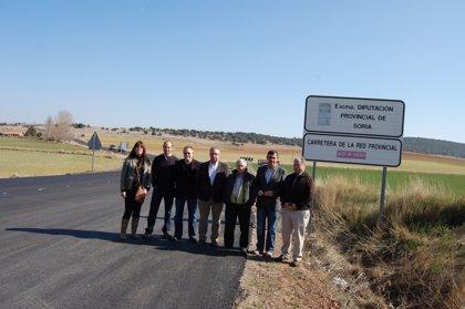 Las inversiones de la Diputación de Soria en la provincia superan los 53 millones de euros en los últimos cuatro años