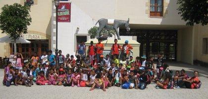 Sendaviva recibe a más de 70 niños saharauis acogidos en Navarra
