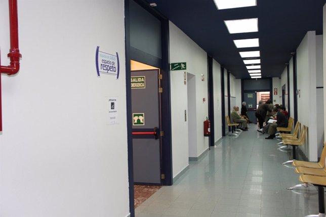 Interior de un centro sanitario