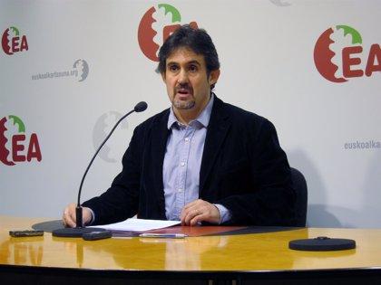"""EA emplaza al PNV a que inicie el próximo curso político """"en clave de país"""" en la normalización y en el ámbito económico"""