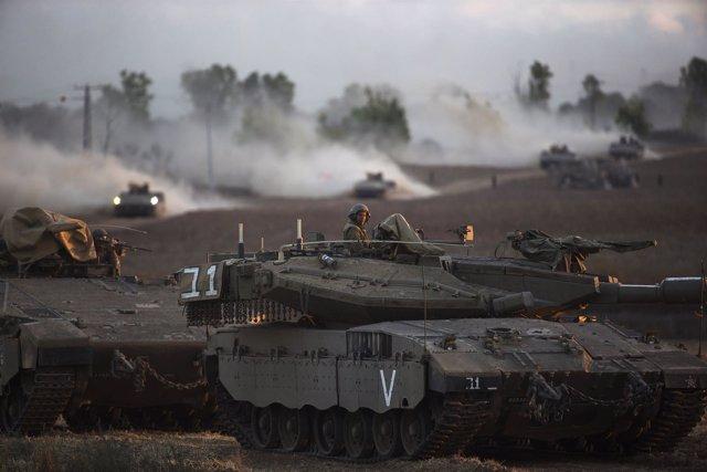 Soldados de Israel en Gaza