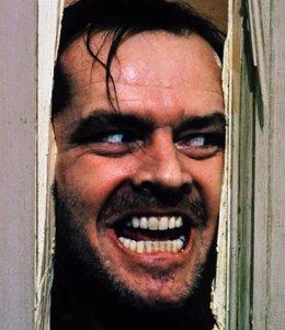 Jack Nicholson En El Resplandor De Kubrick