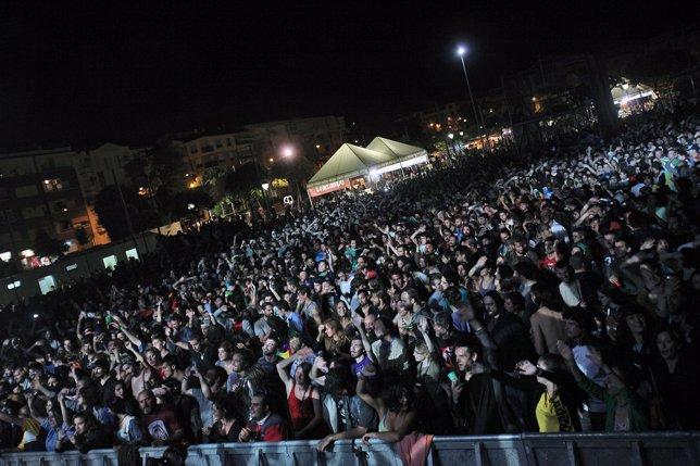 Público en Etnosur el sábado