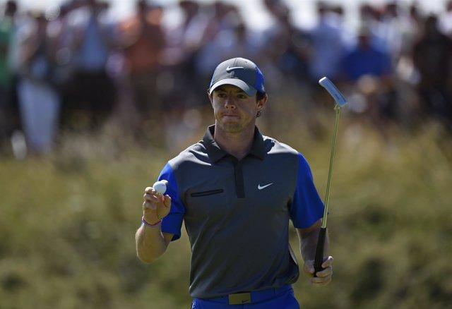 El golfista norirlandés Rory McIlroy