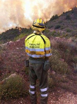 Incendio de La Vall d'Uixò