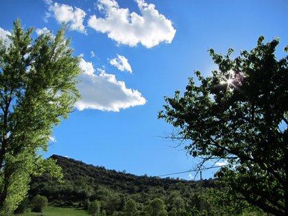 Las temperaturas bajan ligeramente este lunes en la Comunitat Valenciana
