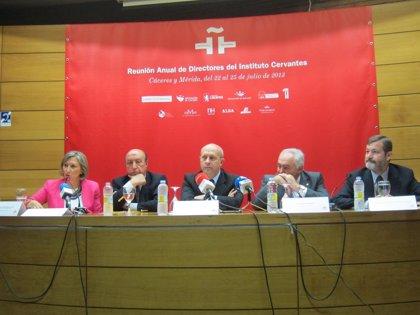 El Instituto Cervantes inaugura este lunes en Logroño su Reunión Anual de Directores