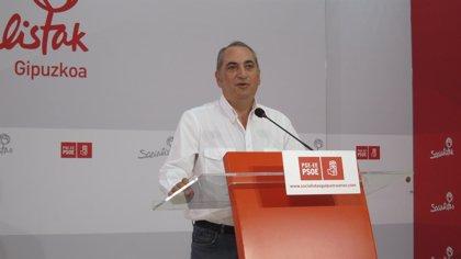 PSOE Guipúzcoa lanza el nombre de Patxi López para la presidencia del PSOE