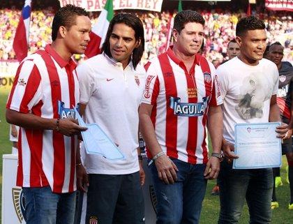 El Mónaco sin Falcao vence (0-1) al Atlético junior en el primer encuentro de la Copa Euroamericana