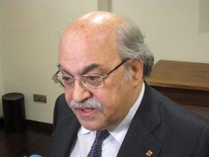 Mas-Colell separa la reclamación de financiación del debate soberanista