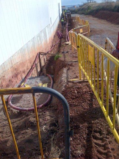 Endesa instala una línea de media tensión subterránea de 1.400 metros en Badalona