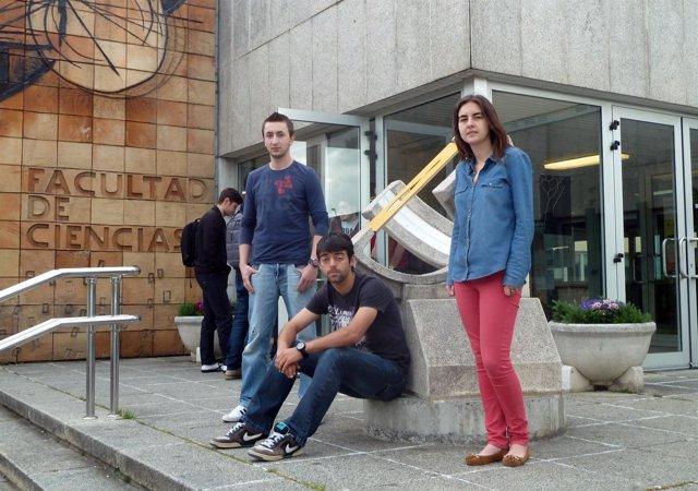Estudiantes de la UC que participarán en la competición internacional