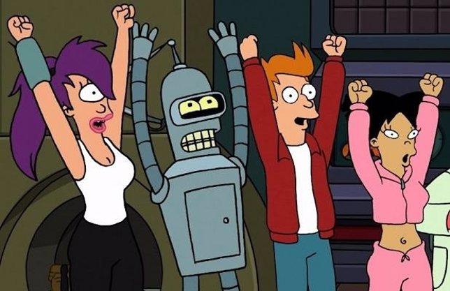 Crossover entre Los Simpson y Futurama