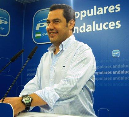 """Moreno (PP-A) asegura que la personación de la Junta en la causa de UGT-A llega """"tarde, a palos y a regañadientes"""""""