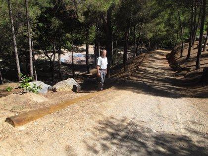 El Ayuntamiento de Teruel mejora el parque de Los Fueros