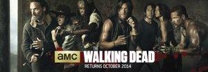 Cartel de la quinta temporada de The Walking Dead