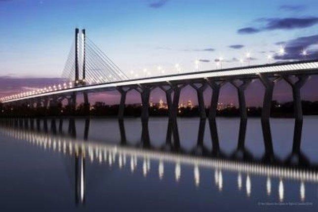 Nuevo puente de St. Lawrence, Canadá