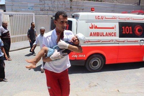 Ayuda humanitaria en Gaza
