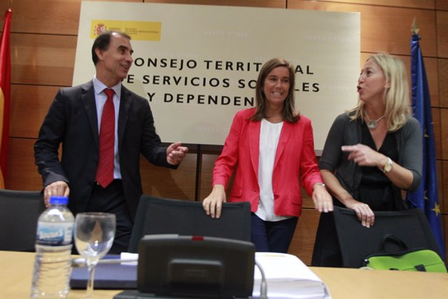 Ana Mato en el Consejo Territorial