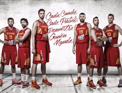 Injusto argumento leyendo  Nike y la FEB presentan la camiseta de España