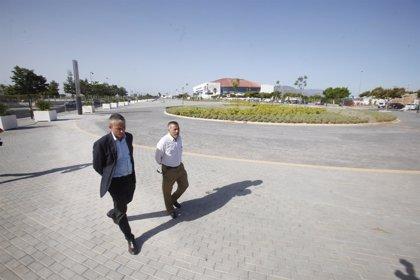 La Junta concluye la nueva urbanización del entorno de la estación del metro del Palacio de Deportes