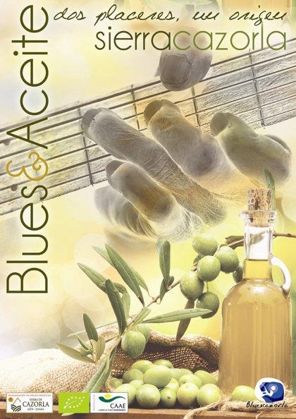 El aceite de oliva ecológico y el Royal con DO 'Sierra de Cazorla' se promocionan en el BluesCazorla