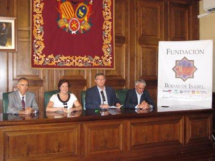 """El alcalde de Teruel indica que la Placa al Mérito Turístico a la Fundación Bodas de Isabel es """"un premio a la ciudad"""""""