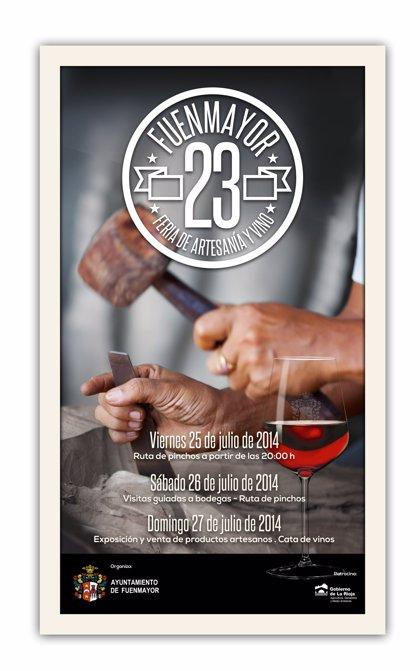 Fuenmayor celebra su 23 Feria de Artesanía y Vino, una cita ineludible en el calendario estival riojano