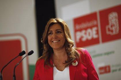 Susana Díaz presidirá el Congreso Federal Extraordinario del PSOE