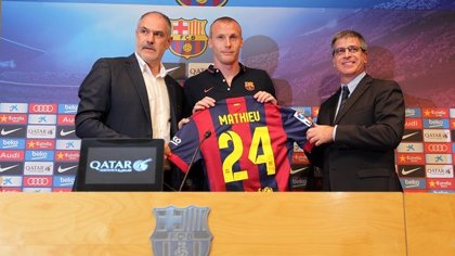 "Mathieu: ""Llego en el mejor momento de mi carrera"""