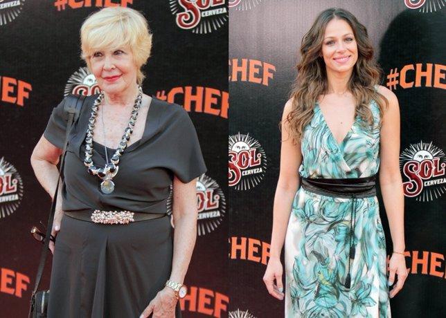 Concha Velasco reaparece totalmente recuperada en el estreno de 'Chef'