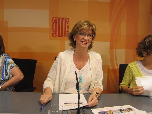La consellera de Enseñanza de la Generalitat, Irene Rigau.
