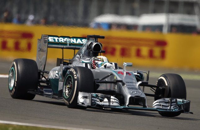 Mercedes Formula One driver Hamilton