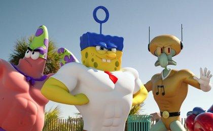 Nueva y ridícula imagen de la película en 3D de Bob Esponja