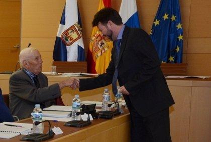 Jesús Mesa, cofundador de la Cámara de Aguas de Tenerife, nombrado Hijo Ilustre de la Isla