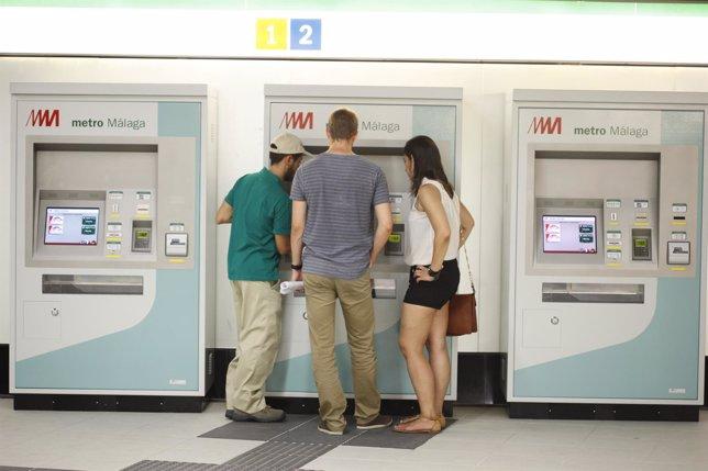 Jornada puertas abiertas del Metro de Málaga