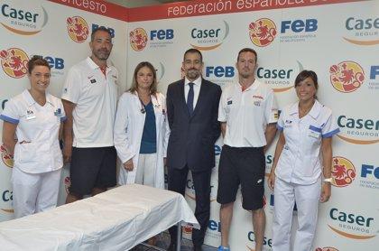 Caser elige a HM Hospitales para los reconocimientos médicos a la selección masculina de baloncesto