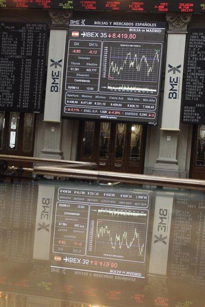 El Ibex sube un 0,25% y avanza un 3,4% en la primera semana de resultados, cerca de los 10.900 puntos