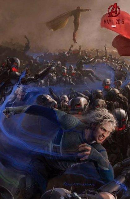 Así es Vision en 'Los Vengadores: La era de Ultrón'