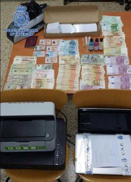 Falsificación documentos