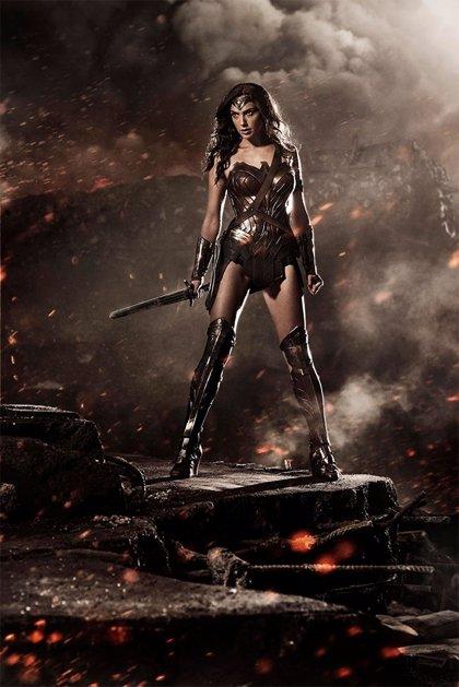 'Batman v Superman': Primera imagen de Gal Gadot como Wonder Woman