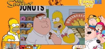 Cinco minutos del 'crossover' entre Padre de Familia y Los Simpson