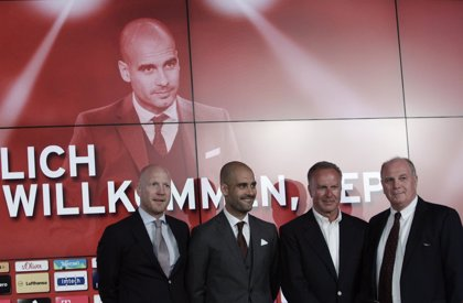 """Rummenigge asegura que el Bayern """"nunca"""" despedirá a Guardiola"""