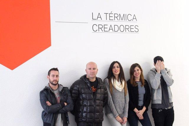 Creadores, Térmica, Diputación, residencia, Artistas