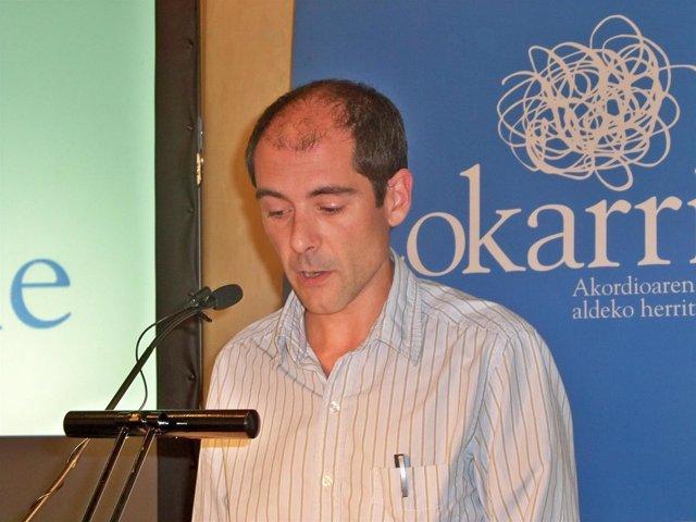 El coordinador de Lokarri, Paul Ríos.