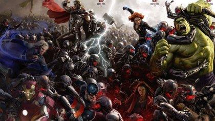 Todos los Vengadores en acción en el nuevo cartel
